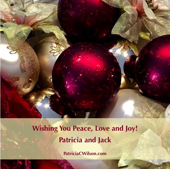 Holiday Greetings 2017 PatriciaCWilson.com