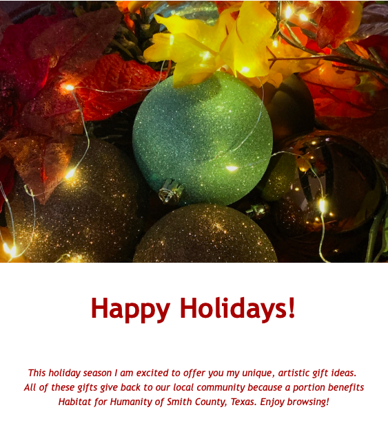 Holiday Gift Ideas by PatriciaCWilson.com